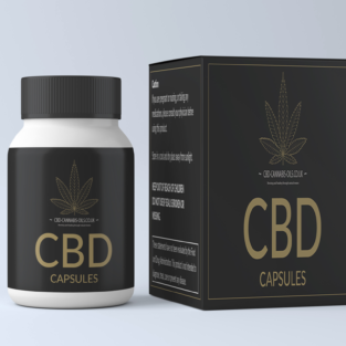 CBD capsules for sale at