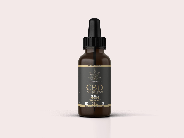 CBD oil 2.5%